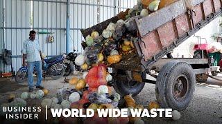 How Rotting Vegetables Make Electricity | World Wide Waste