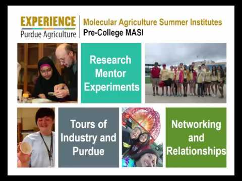 May 2016 Purdue Moves Plant Sciences Update