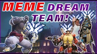 MEME DREAM TEAM! ft. ELK ON DOOM & CLANK