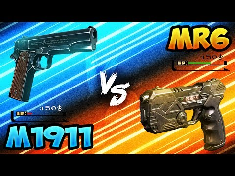 BO3 New M1911 vs MR6