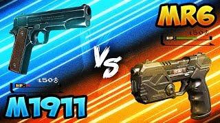 BO3 New M1911 vs MR6