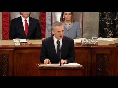 Live: выступление генсекретаря НАТО в Конгрессе США