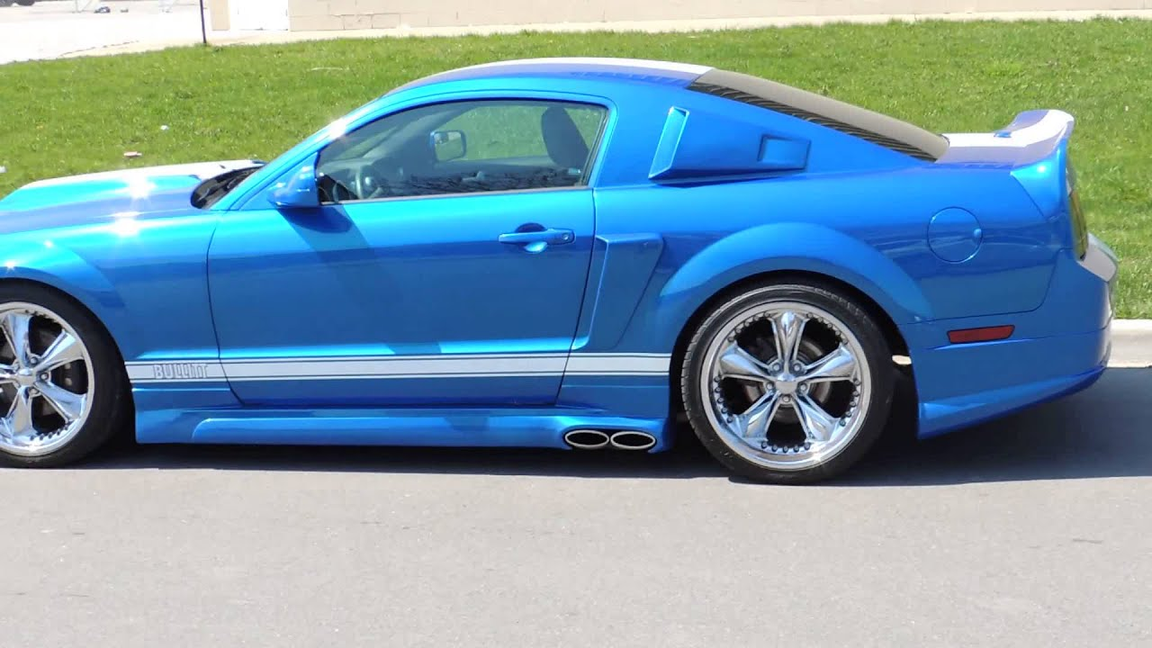 2009 Gt With Cervini C500 Body Kit Lowered On 20 Quot Foose