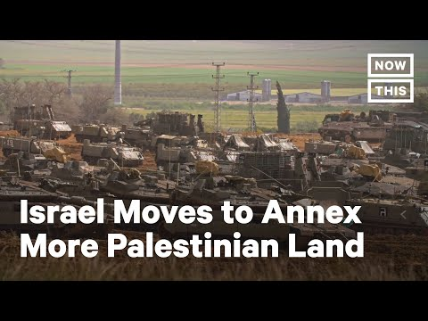 Israel Pushes Forward With Annexation | NowThis