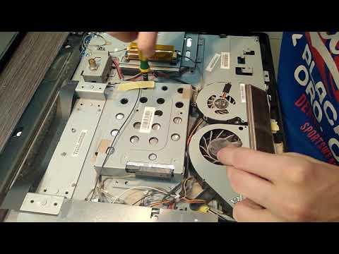 Демонтируем HDD в моноблоке Asus AR5B95