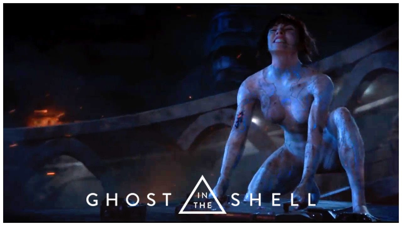 Ghost In The Shell 2017 Spider Tank Fight Ending Bad Quality Youtube