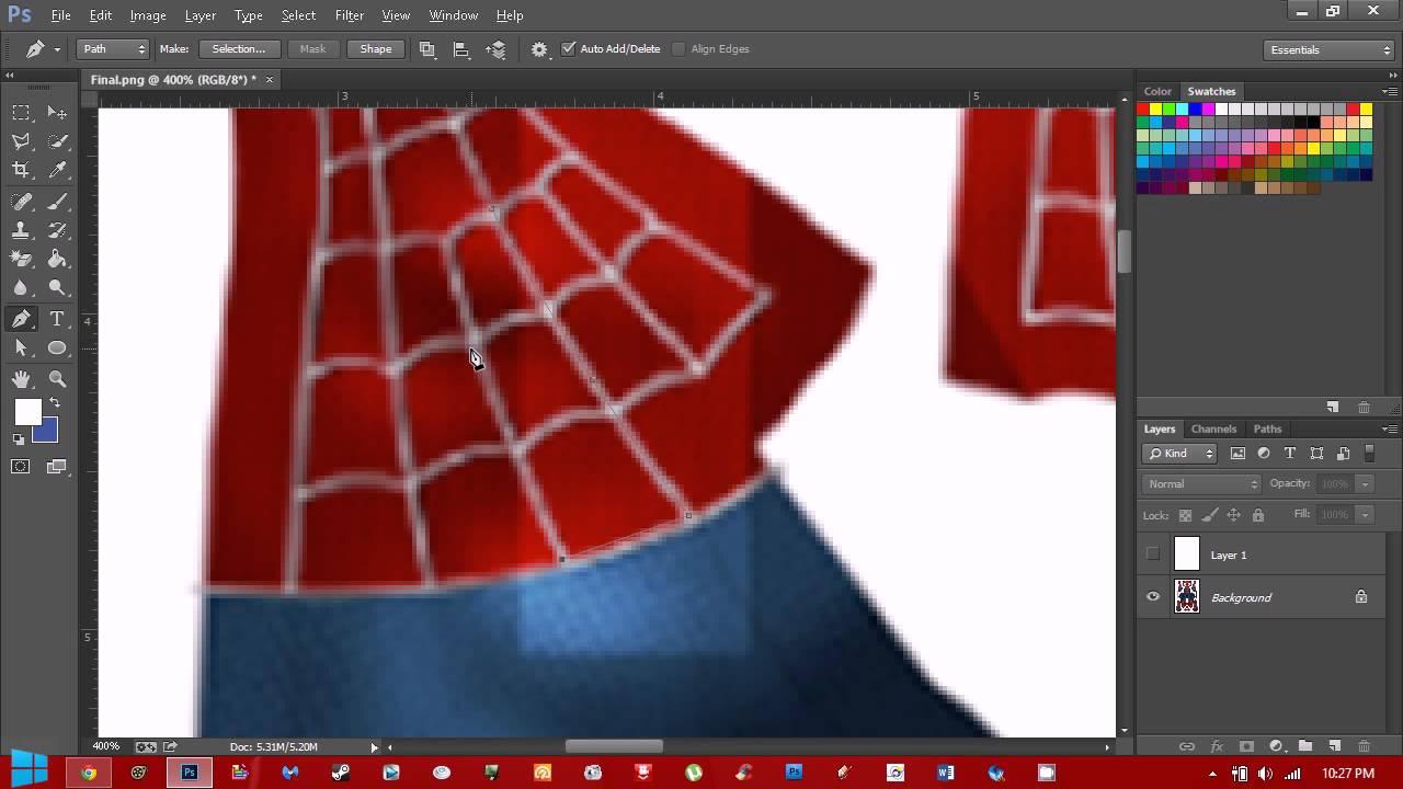 Spiderman dye sub pattern tutorial youtube jeuxipadfo Images