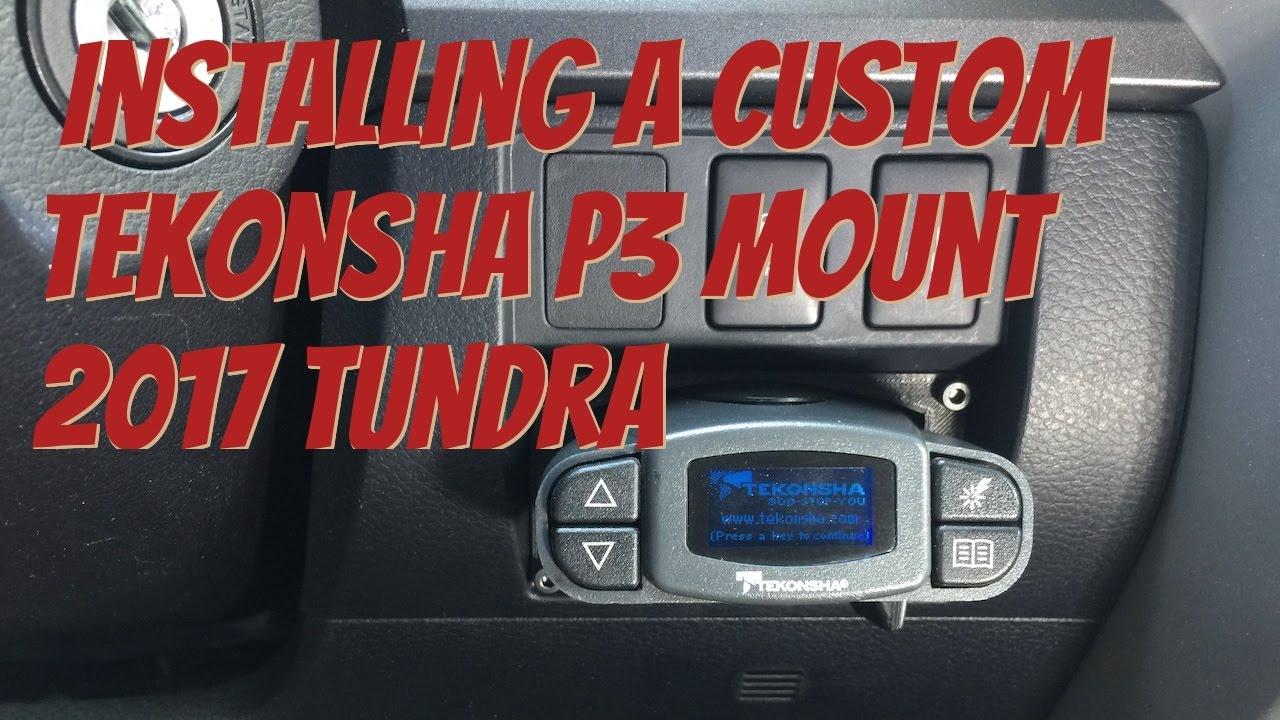 Toyota Tundra Tekonsha P3 Brake Controller W   Custom