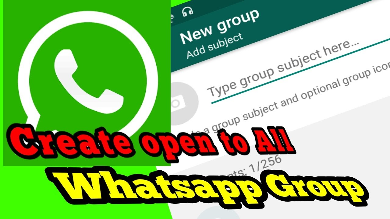How to Create Group Invitation Link on Whatsapp  Join Anyone to your group  like Facebook