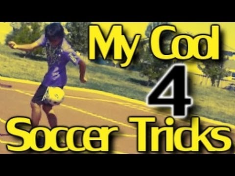 MY COOL SOCCER TRICKS 4 - YouTube