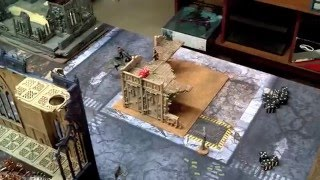 Warhammer 40k Battle Report 7th Dark Eldar vs Chaos Space Marines and Deamons