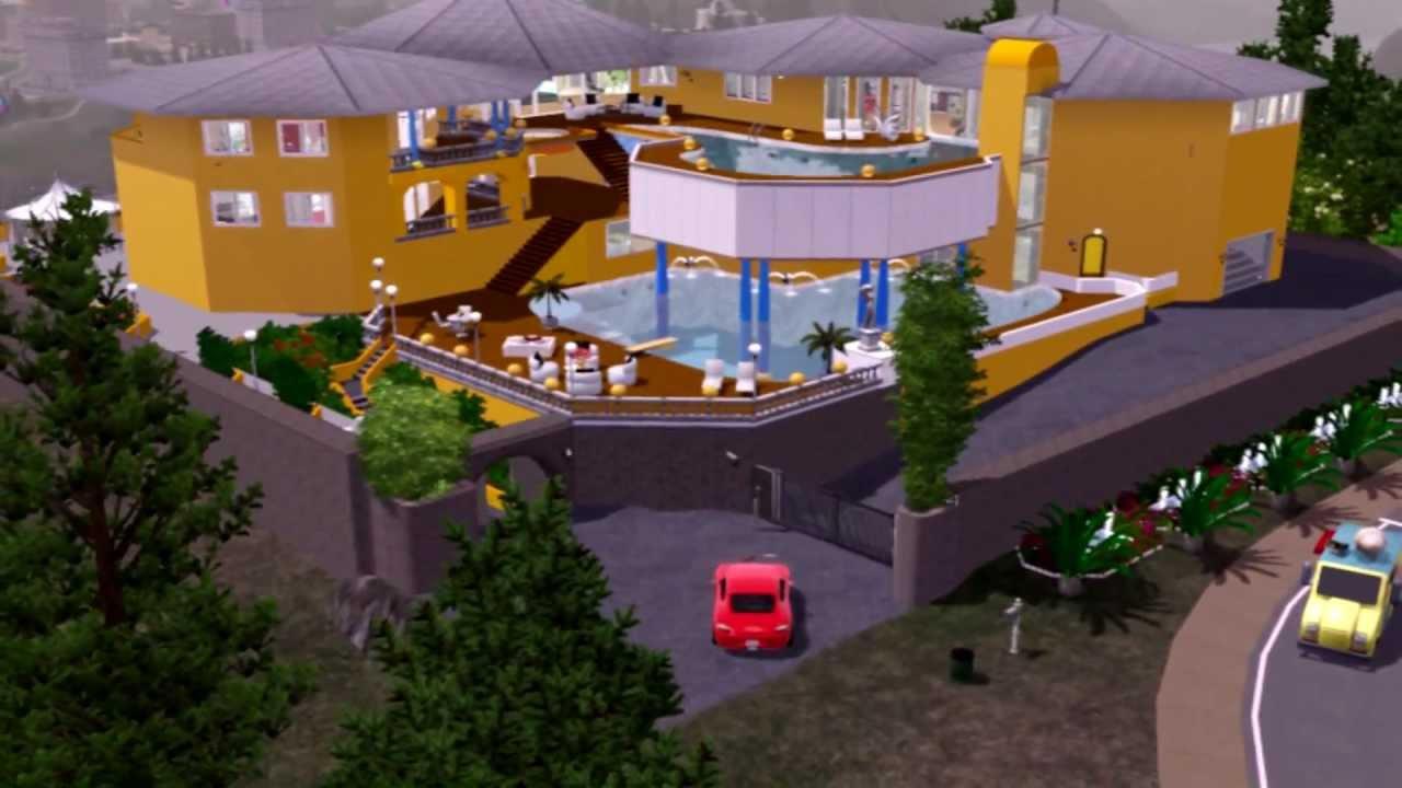 the sims 3 villa colani youtube. Black Bedroom Furniture Sets. Home Design Ideas