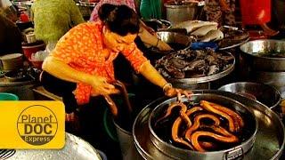 Vietnam. Mercado de Canthó