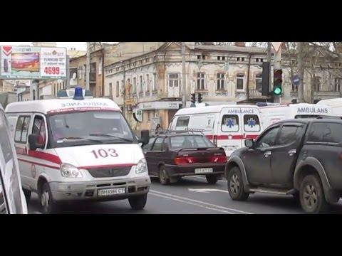 *2x FRONTLIGHTS,POLAND AMBULANCE,KLJ 70* Renault Master border ambulance+Gazelles