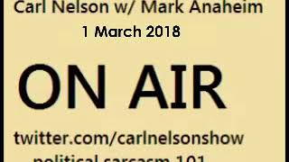 Carl Nelson talking to Mark Anaheim on 1st March 2018