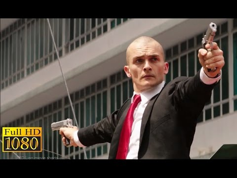 Hitman Agent 47 (2015) - Street Shootout Scene (1080p) FULL HD