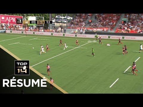 TOP 14 - Résumé Oyonnax-Toulouse: 23-23 - J1 - Saison 2017/2018