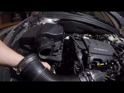 How To Remove Your Intake On A Chevy Cruze