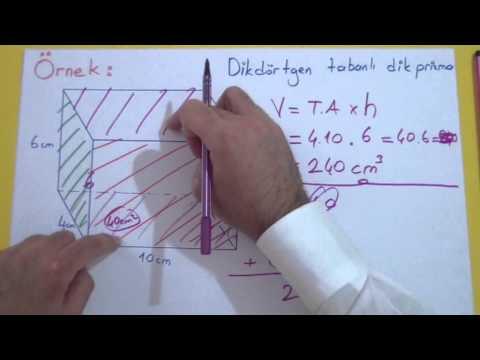 Prizmalar Şenol Hoca Matematik