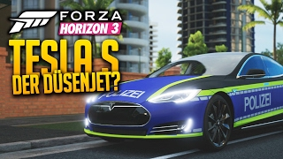 FORZA HORIZON 3 - Ein TESLA S wie ein Düsenjet?