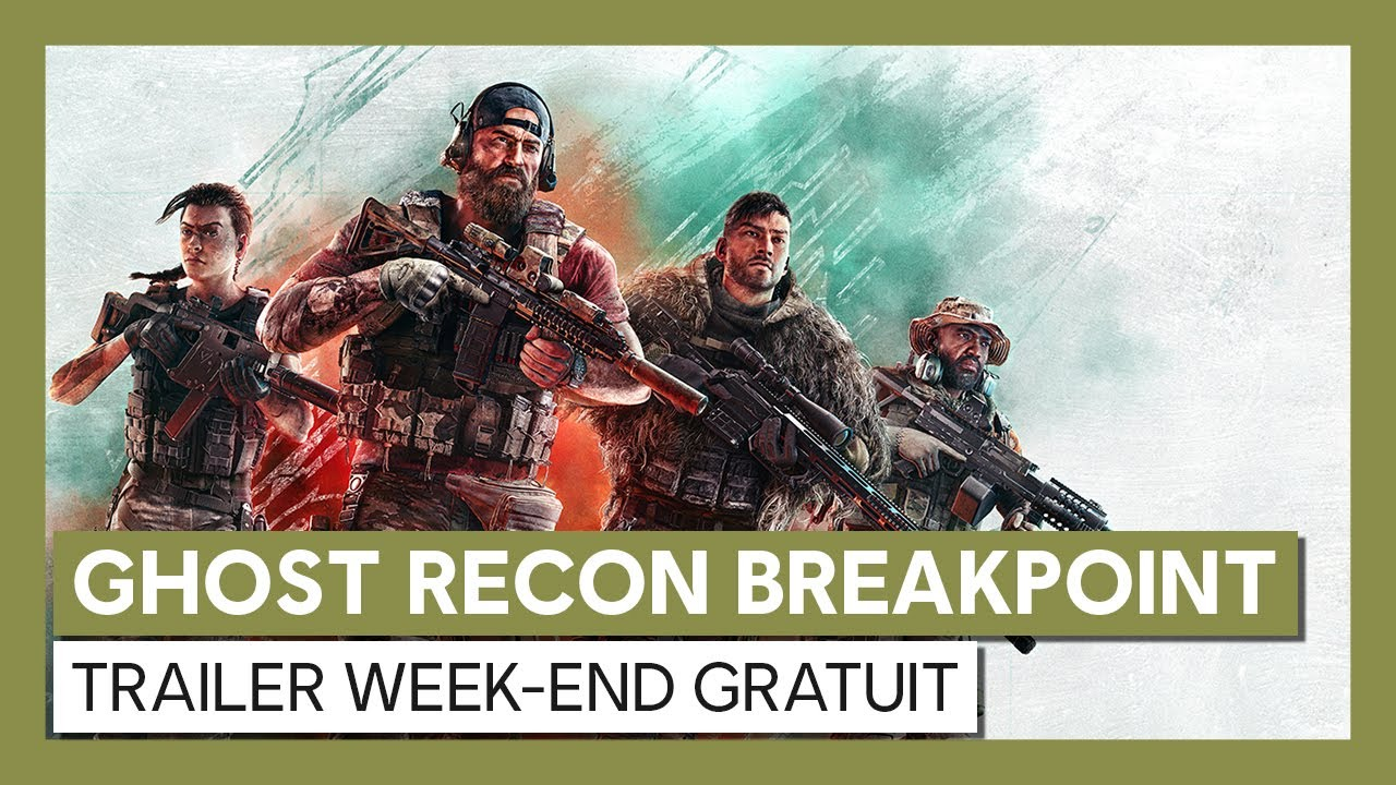 Ghost Recon Breakpoint : Trailer week-end gratuitVOSTFR HD