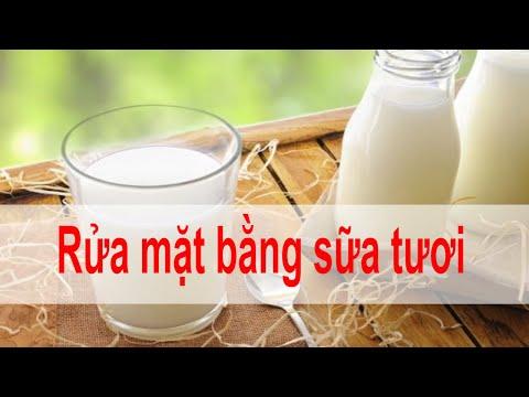 Hướng dẫn Rửa mặt bằng sữa tươi có tác dụng gì, có bị bắt nắng không