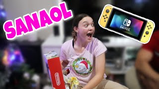 SURPRISING MY SISTER WITH A NINTENDO SWITCH FOR CHRISTMAS!