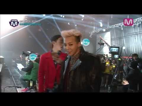 [ENGSUB] GD & Jeong Jun Young preparing for the stage of Mcountdown