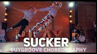 SUCKER | @jonasbrothers | @GuyGroove choreography