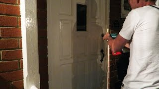 BREAKING INTO OUR HOUSE