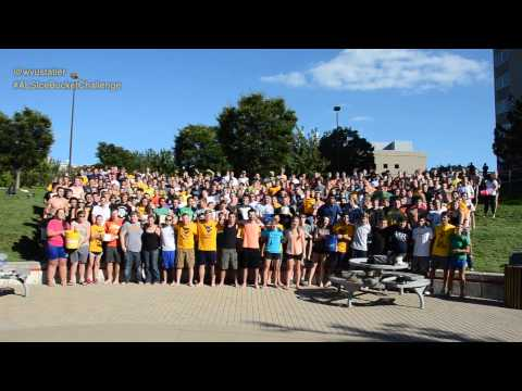 WVU Statler Freshman Engineering Ice Bucket Challenge