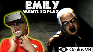 Emily Wants To Play | Oculus Rift DK2 Horror Game  ( PANIC ATTACK ) | POiiSED