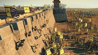 9K MEN SIEGE - Total War: THREE KINGDOMS