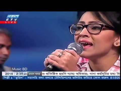 amar sona bondhu re tumi kothay roila re Bangla Folk Song Covered by Marzia Turin 2016   YouTube