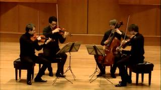 Mendelssohn String Quartet no.6 in F minor opus 80 2nd Movement - Allegro assai