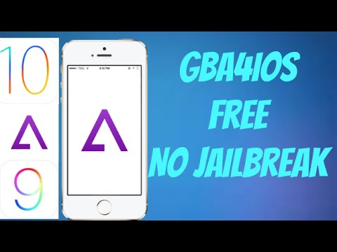 Download GBA4IOS On IOS 10!!! (Free No Jailbreak)(IPOD Touch IPAD AND  IPHONE)