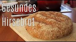 Mein knuspriges glutenfreies HIRSEBROT - Wie frisches Bäckerbrot - Canans Rezepte