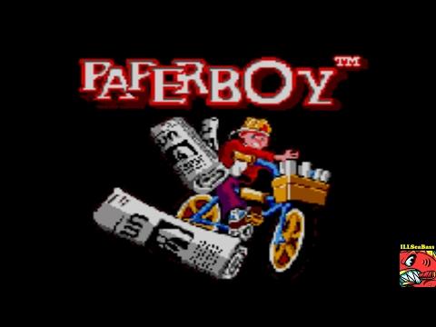 Paperboy [Easy Street] SEGA GAME GEAR - 17,050