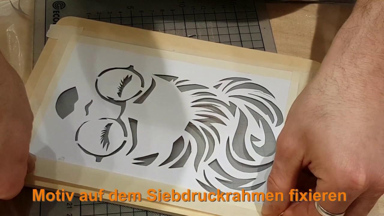 Live Siebdruck Pongdesign Designstudio Hannover