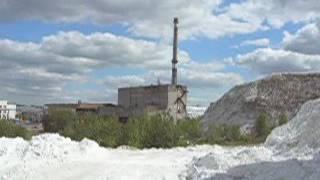 Белая гора суперфосфатный завод Винница. Террикон фосфогипса