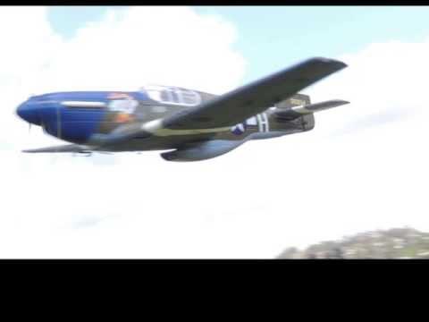 FMS P-51B Dallas Darling Flyover