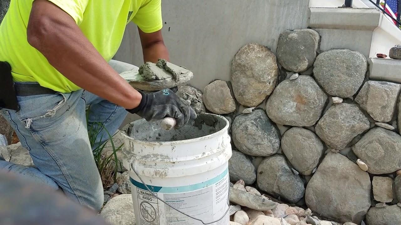 Download #StoneVeneer,PiedraDeFabrica#Tutorial Como Pegar Piedra, Laying Stone Veneer.