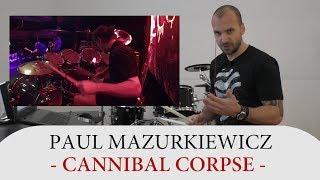 Gambar cover Drum Teacher Reacts to Paul Mazurkiewicz - Drummer of Cannibal Corpse