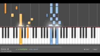 Piano Tutorial: Nine Inch Nails - La Mer (Duet)