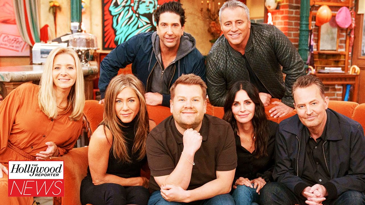 James Corden Takes 'Friends' Cast on Golf Cart Karaoke Trip During Behind the Scenes I THR News