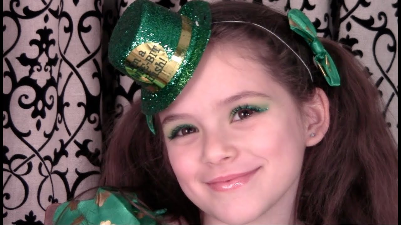 St patricks day makeup tutorial for kids or parade youtube st patricks day makeup tutorial for kids or parade baditri Gallery