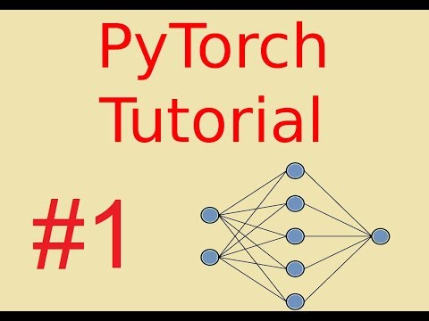 PyTorch Tutorial | Introduction & First Neural Network - YouTube