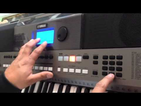 Como cargar ritmos al Teclado Yamaha Psr 443