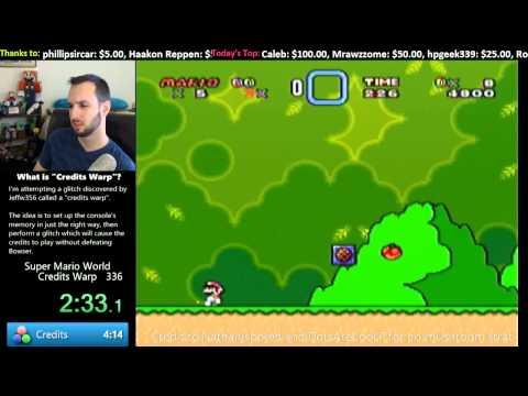 Super Mario World -- Credits Warp in 3:53.9 (World Record) thumbnail