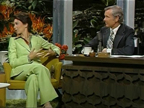 Suzanne Pleshette on The Tonight  with Johnny Carson 1974